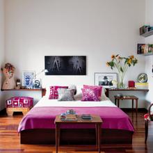 Фотография: Спальня в стиле Эклектика, Дома и квартиры, Интерьеры звезд, Ретро – фото на InMyRoom.ru