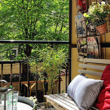 Фотография: Балкон, Терраса в стиле Кантри, Современный, Интерьер комнат, специальная тема: балконы – фото на InMyRoom.ru