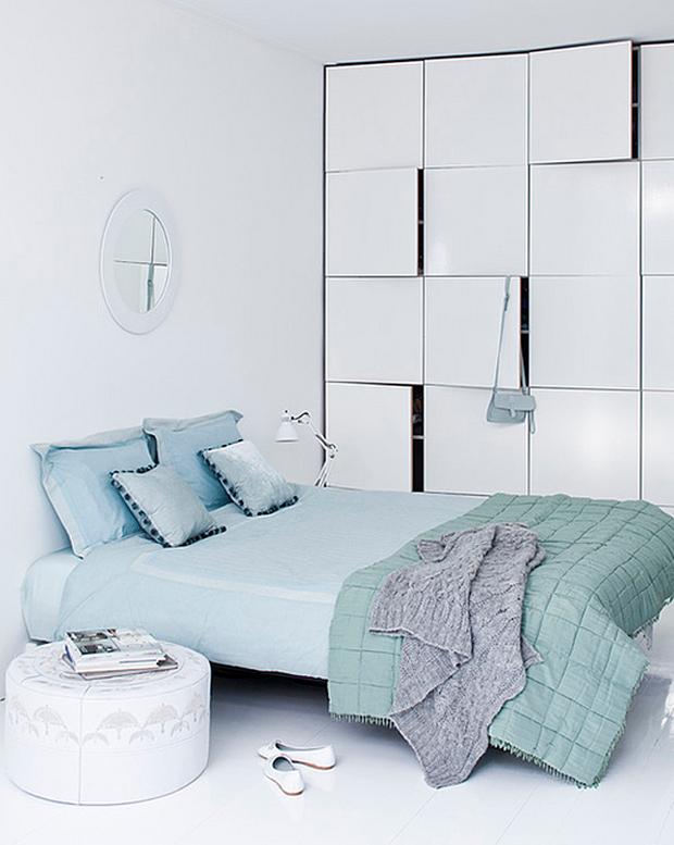 Фотография: Спальня в стиле Хай-тек, Декор интерьера, Дизайн интерьера, Цвет в интерьере, Советы, Белый – фото на InMyRoom.ru