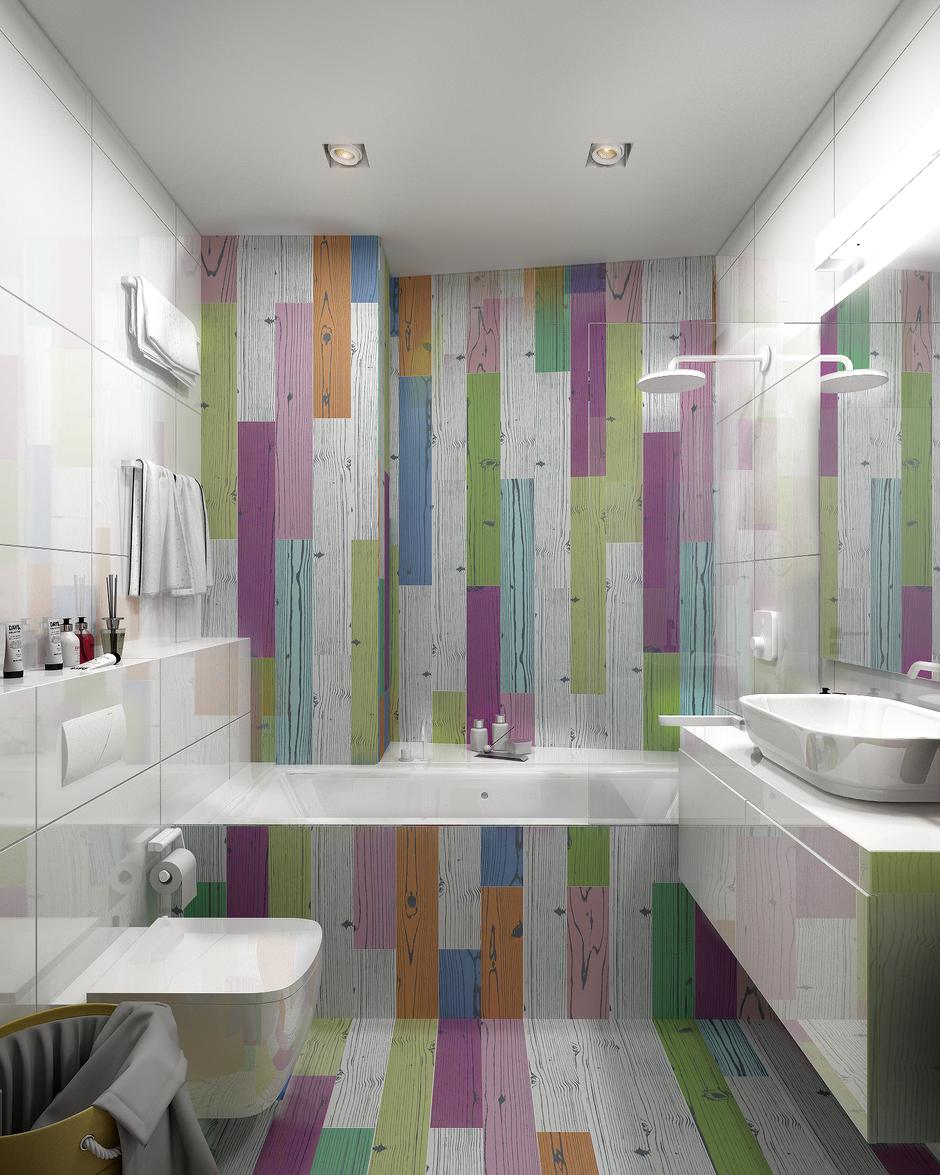 Фотография: Ванная в стиле Современный, Квартира, Проект недели, Анастасия Туганова – фото на InMyRoom.ru