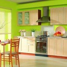 Фотография: Кухня и столовая в стиле Современный, Декор интерьера, Дизайн интерьера, Цвет в интерьере, Белый, Серый – фото на InMyRoom.ru