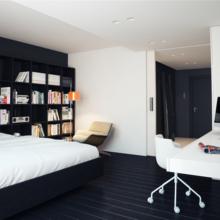 Фотография: Спальня в стиле Современный, Квартира, Дома и квартиры, Минимализм – фото на InMyRoom.ru