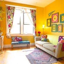 Фото из портфолио Солнечный желтый цвет в дизайне интерьера... – фотографии дизайна интерьеров на InMyRoom.ru