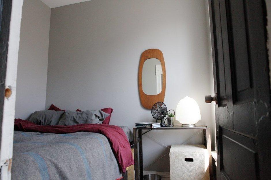 Фотография: Спальня в стиле Современный, Квартира, США, Дома и квартиры, Библиотека – фото на InMyRoom.ru