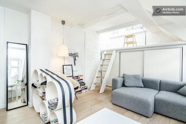 Фотография: Гостиная в стиле Прованс и Кантри, Современный, Airbnb – фото на InMyRoom.ru