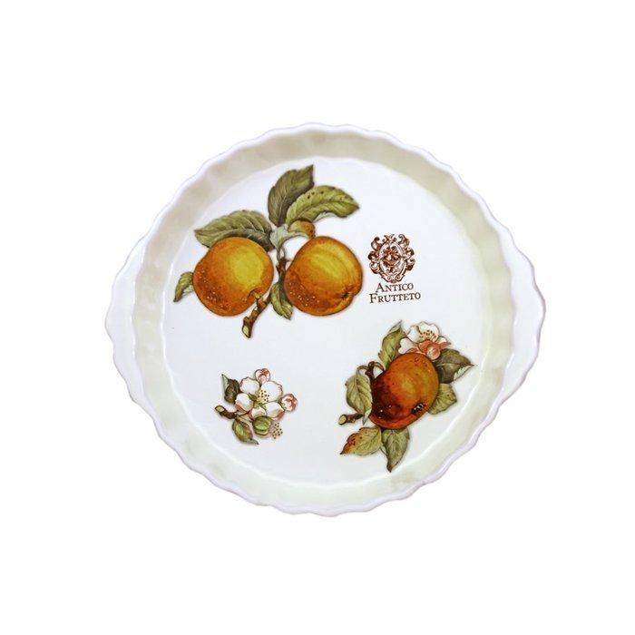 Блюдо круглое Античные фрукты