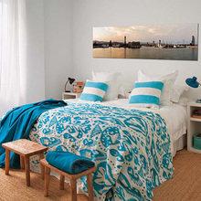 Фотография: Спальня в стиле Скандинавский, Современный, Дом, Испания, Цвет в интерьере, Дома и квартиры, Белый – фото на InMyRoom.ru