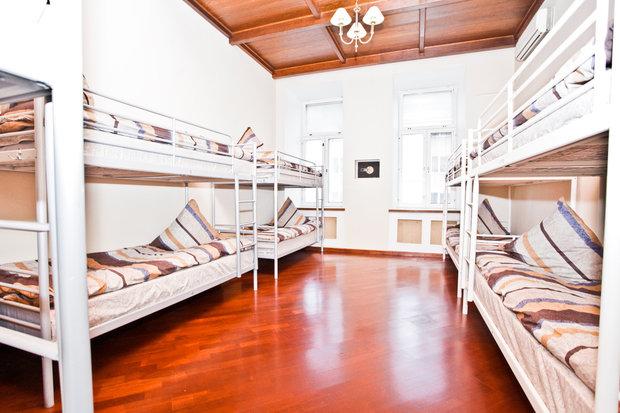 Фотография: Спальня в стиле Современный, Дома и квартиры, Городские места, Москва, Хостел – фото на InMyRoom.ru