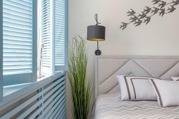 Фотография: Спальня в стиле Современный, Эко, Квартира, Проект недели, 2 комнаты, 40-60 метров, Светлогорск, Виктория Лазарева – фото на INMYROOM