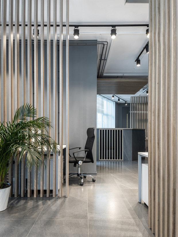 Фото из портфолио Лофтовый офис для молодой компании – фотографии дизайна интерьеров на INMYROOM