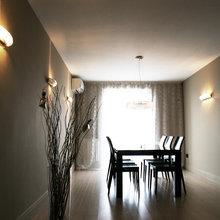 Фото из портфолио Квартира с ванной у окна – фотографии дизайна интерьеров на INMYROOM