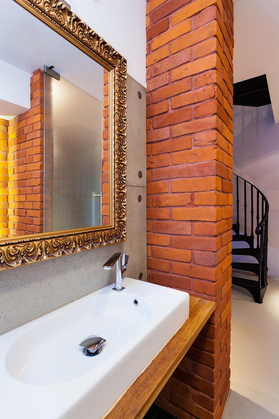 Фотография: Ванная в стиле Классический, Лофт, Современный, Декор интерьера, Квартира, Дом, Декор дома, Стена – фото на InMyRoom.ru