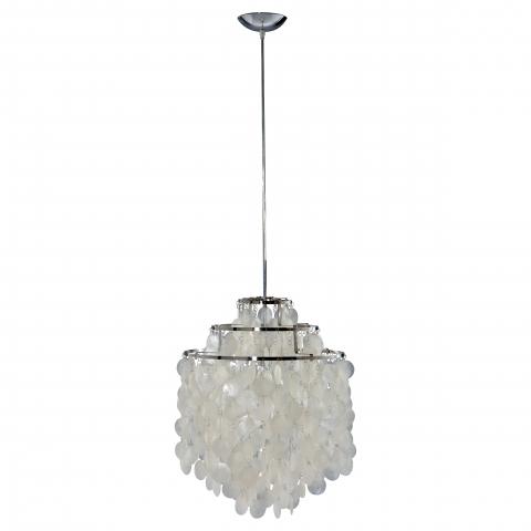 Подвесной светильник Seashell Fun с декоративным плафоном из ракушек
