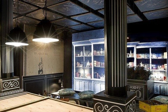 Фотография: Прочее в стиле Лофт, Эклектика, Малогабаритная квартира, Офисное пространство, Испания, Дома и квартиры, Городские места, Барселона – фото на InMyRoom.ru