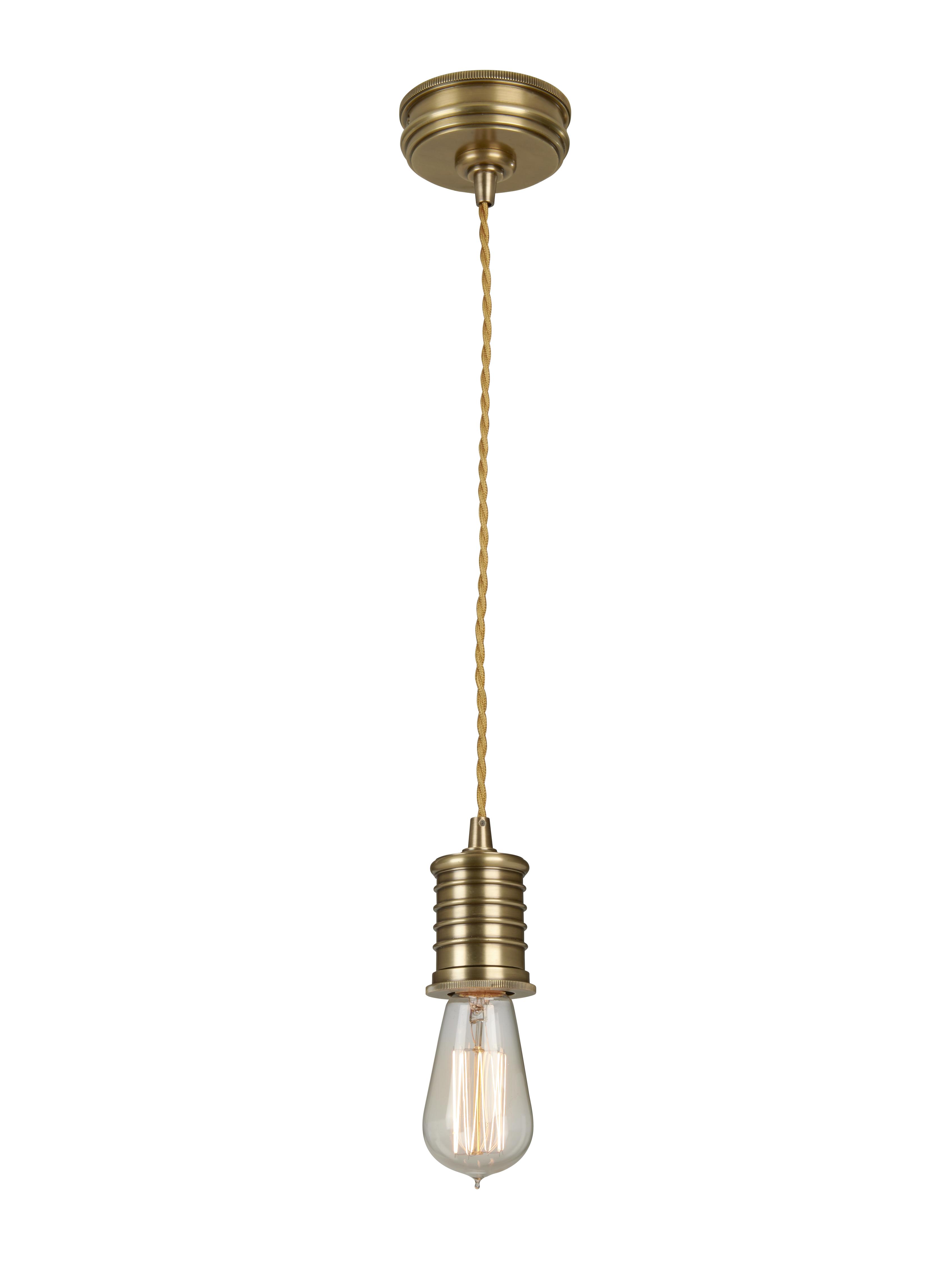 Купить Подвесной светильник Elstead Interior Douille состаренная медь, inmyroom, Китай