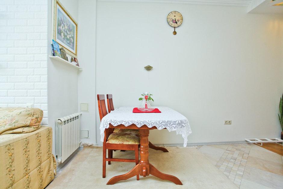Фотография: Кухня и столовая в стиле Прованс и Кантри, Скандинавский, Квартира, Дома и квартиры – фото на InMyRoom.ru