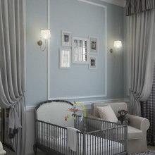 Фото из портфолио Комната для новорождённых – фотографии дизайна интерьеров на INMYROOM
