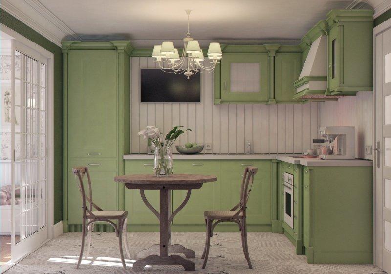 Фотография: Кухня и столовая в стиле , Малогабаритная квартира, Квартира, Дома и квартиры – фото на InMyRoom.ru