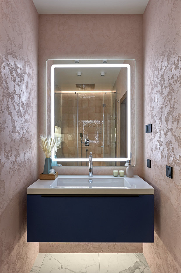 Фотография: Ванная в стиле Современный, Проект недели, Санкт-Петербург, 2 комнаты, 60-90 метров – фото на INMYROOM