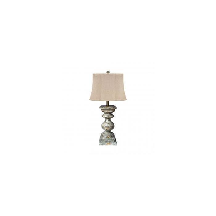 Настольная лампа Resin Table Lamp with Shade