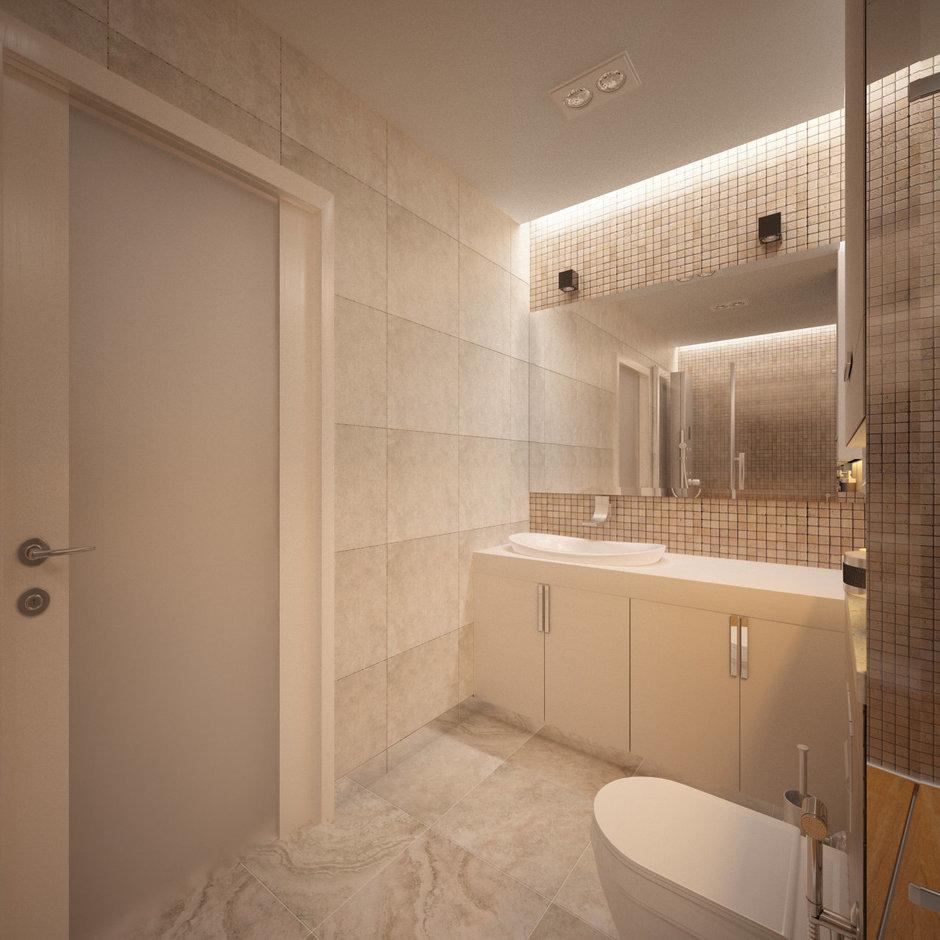 Фотография: Ванная в стиле Современный, Квартира, Проект недели – фото на InMyRoom.ru