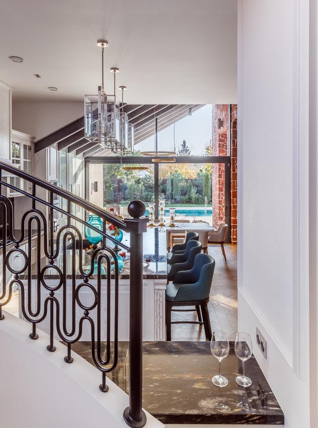 Фото из портфолио Частный жилой дом – фотографии дизайна интерьеров на INMYROOM