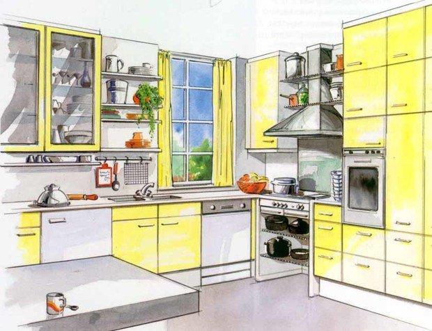 Фотография: Прочее в стиле , Кухня и столовая, Интерьер комнат – фото на InMyRoom.ru
