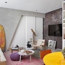 Фото из портфолио Квартира молодого холостяка в Рио-де-Жанейро – фотографии дизайна интерьеров на InMyRoom.ru