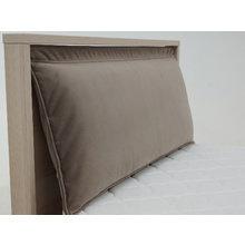 Узкая односпальная кровать Village цвета ясень коимбра