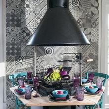 Фотография: Кухня и столовая в стиле Кантри, Дом, Дома и квартиры, dom-iz-brusa – фото на InMyRoom.ru