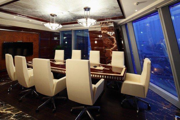 Фото из портфолио Офис в Москва-Сити – фотографии дизайна интерьеров на INMYROOM