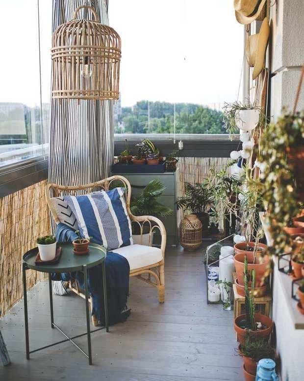 Фотография: Балкон в стиле Прованс и Кантри, Гид, как обустроить открытый балкон, открытый балкон, идеи для открытого балкона, как обустроить балкон, балкон в квартире – фото на INMYROOM