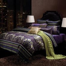 Фотография: Спальня в стиле Восточный, Декор интерьера, Дизайн интерьера, Цвет в интерьере, Текстиль – фото на InMyRoom.ru
