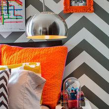 Фотография: Спальня в стиле Классический, Современный, Эклектика, Декор интерьера, Квартира, Дом, Цвет в интерьере, Дома и квартиры – фото на InMyRoom.ru