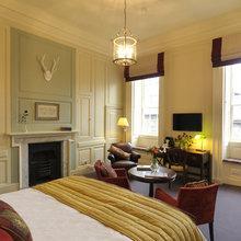 Фотография: Спальня в стиле Кантри, Гостиная, Интерьер комнат – фото на InMyRoom.ru