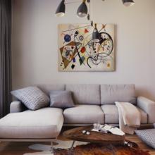 Фото из портфолио Квартира Михаила – фотографии дизайна интерьеров на INMYROOM