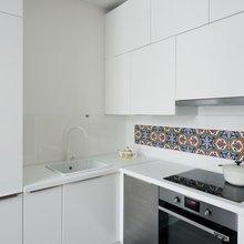 Фотография: Кухня и столовая в стиле Минимализм, Малогабаритная квартира, Квартира, Студия, Проект недели, до 40 метров – фото на InMyRoom.ru