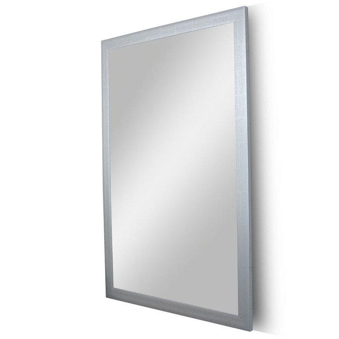 """Зеркало в гладкой раме """"Мраморное Серебро"""""""