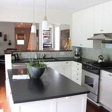 Фотография: Кухня и столовая в стиле Современный, Дом, США, Дома и квартиры, Блошиный рынок, Колониальный – фото на InMyRoom.ru