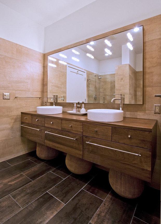 Фотография: Ванная в стиле Восточный, Квартира, Дома и квартиры, Проект недели – фото на InMyRoom.ru
