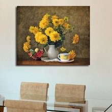 Дизайнерская картина на холсте: Желтые шары