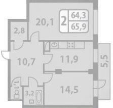 Помогите зонировать квартиру (или сделать перепланировку)