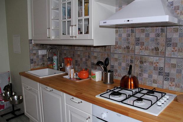 Фотография: Кухня и столовая в стиле Прованс и Кантри, Скандинавский, Современный, Квартира, HOFF, Дома и квартиры, IKEA – фото на InMyRoom.ru