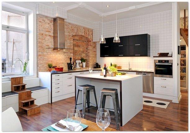 Фотография: Кухня и столовая в стиле Скандинавский, Квартира, Стиль жизни, Советы – фото на InMyRoom.ru