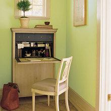 Фотография: Кабинет в стиле Современный, Дом, Дома и квартиры, Стол – фото на InMyRoom.ru