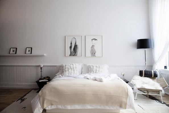 Фотография: Спальня в стиле Скандинавский, Аксессуары, Мебель и свет, Советы, Ремонт на практике – фото на InMyRoom.ru