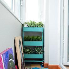 Фотография: Балкон в стиле Лофт, Скандинавский, Современный, Квартира, Проект недели – фото на InMyRoom.ru