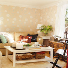 Фотография: Гостиная в стиле , Дом, Дома и квартиры, IKEA, Проект недели, Дача – фото на InMyRoom.ru