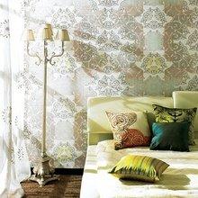 Фотография: Спальня в стиле Кантри, Интерьер комнат, Кровать, Гардероб, Комод, Пуф, Табурет – фото на InMyRoom.ru