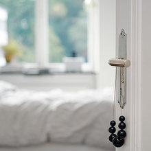 Фотография: Спальня в стиле Скандинавский, Современный, Декор интерьера, Квартира, Швеция, Цвет в интерьере, Дома и квартиры, Белый, Гетеборг – фото на InMyRoom.ru